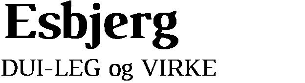 DUI – Esbjerg